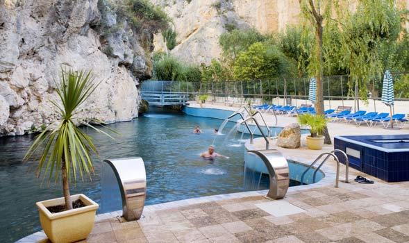 Hotel balneario de la virgen jaraba zaragoza espa a - Balneario de la virgen ...