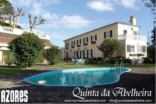Quinta da abelheira ponta delgada isla de san miguel azores portugal casas rurales Casa rurales portugal