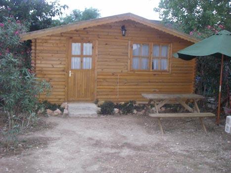Camping caba as laube deltebre tarragona espa a casas - Cabanas de madera en madrid ...
